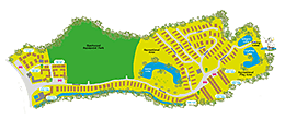 Hazelwood Holiday Park Map